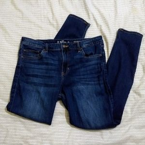 Hollister high rise super skinny stretch jeans